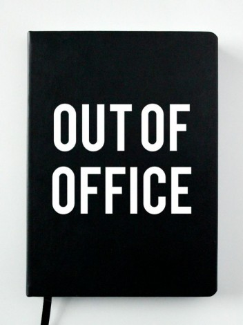 "Ежедневник ""Out of office"".."