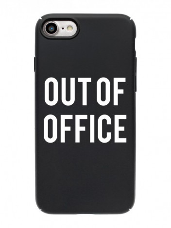 "Чехол на iPhone ""Out of office"""