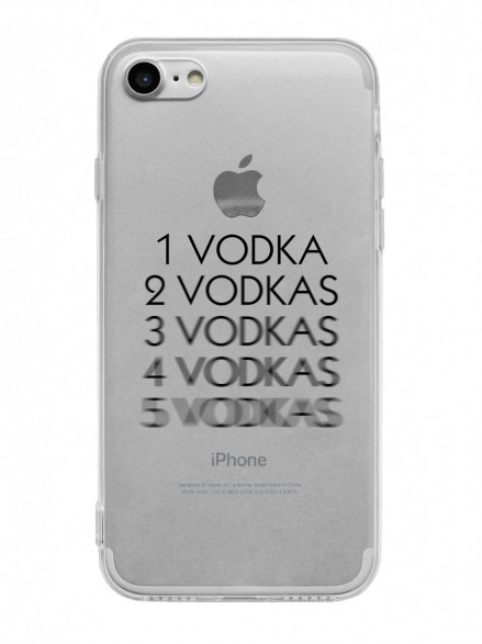 "Чехол на iPhone ""Vodka"""