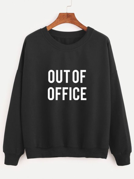 "Толстовка ""Out of office"""
